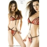 Body-string leopard rouge Chilirose