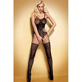 Bodystocking noir Obsessive